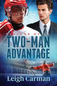 Two-Man Advantage (Players of LA #3) by Leigh Carman #BookReview #HockeyRomance