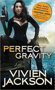 Take an exclusive peek behind the pages of Vivien Jackson's cyberpunk romance Perfect Gravity #Interview #giveaway
